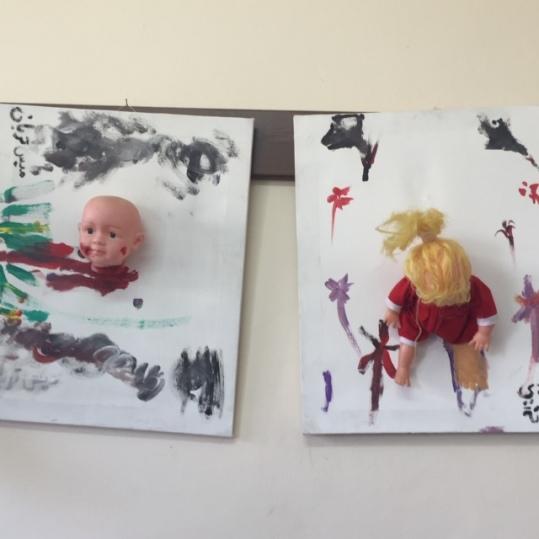 Artwork by children of Gaza